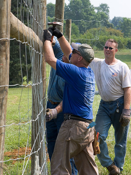 Deer Fencing To Reduce Agricultural Crop Damage
